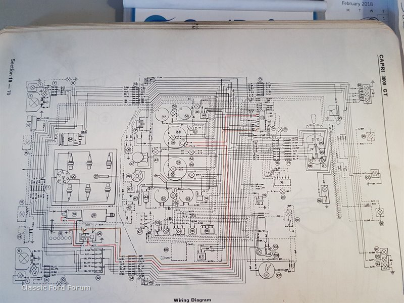 Outstanding 1971 Mk1 Gt Capri Ignition Wiring Help Classic Ford Forum Wiring Database Wedabyuccorg