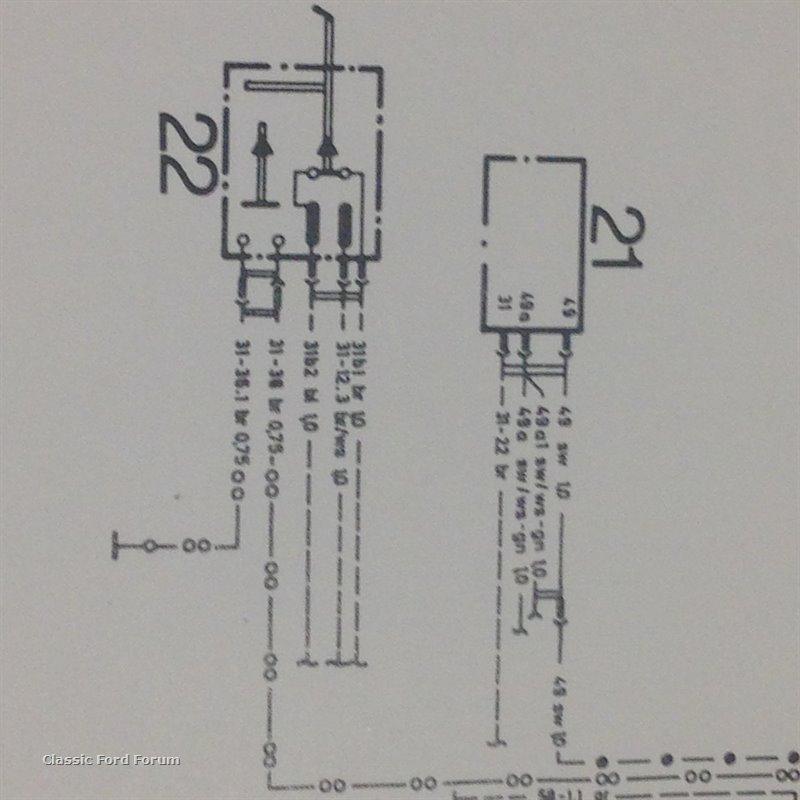 Capri Wiring Diagram