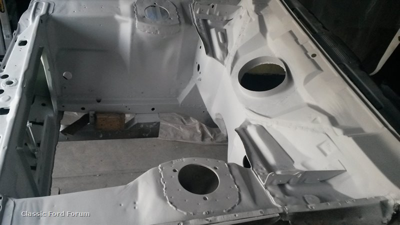 Ford Escort Mk1 Mk2 Heater Bowl Box Bulkhead Repair Panel